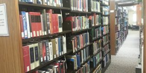 Kelly LIbrary Stacks - 2nd Floor