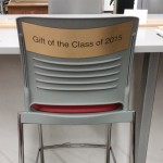 Grad Class Gift 2015 Chair