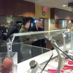 On my tour with Alanna Pimentel, Food Service Manager for Chartwells