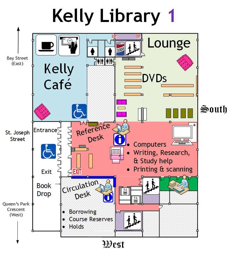 Kelly Library - 1st Floor