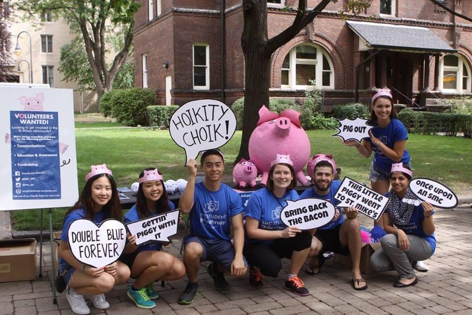 SPC volunteers during Frosh Week!