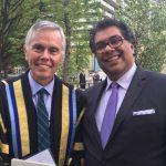 USMC President David Mulroney and Calgary mayor Nenshi