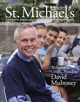 Cover of St. Michael's College Magazine.
