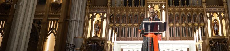 Image depicts Cardinal Sarah
