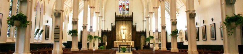 Image depicts the inside of St.Basils church