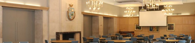 Image depicts the inside of Charbonnel Lounge