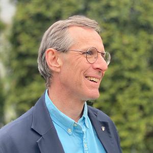 Image depicts Professor Michael O'Connor