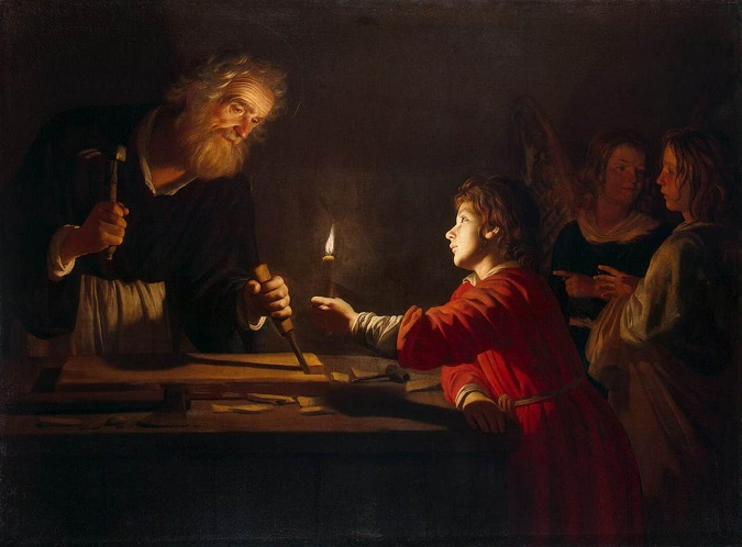 Image depicts St. Joseph the Worker