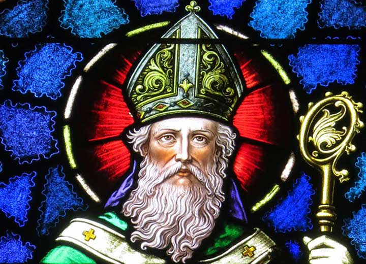 Image depicts St. Patirick's Breastplate