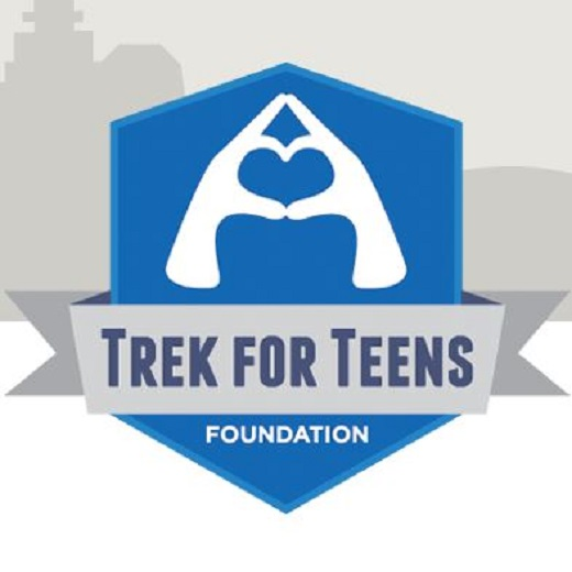 Image depicts the Trek for Teens Logo