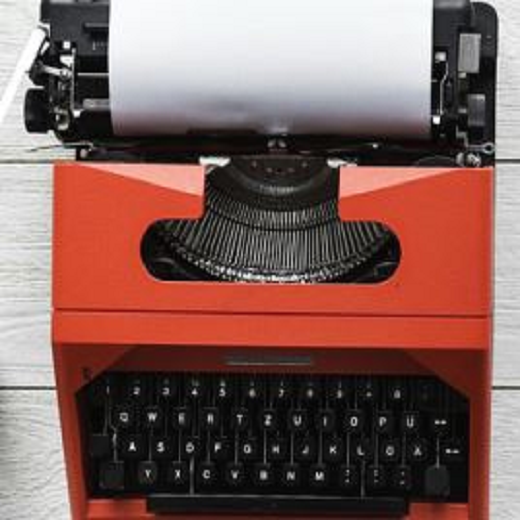 Image depicts a typewritter