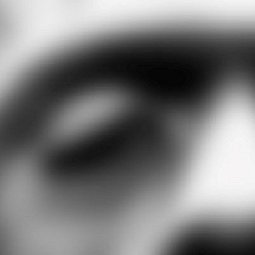Image depicts a blurry picture of Frankenstein's face