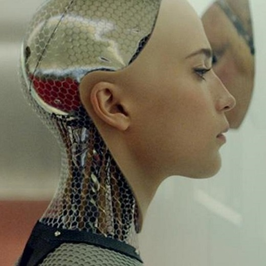 Image depicts the movie poster for the St.Mikes screening of Ex Machina