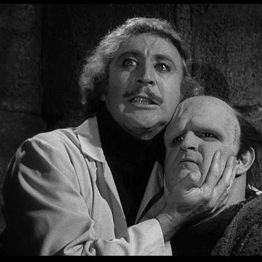 Image depicts the movie poster for the film screening Frankenstein