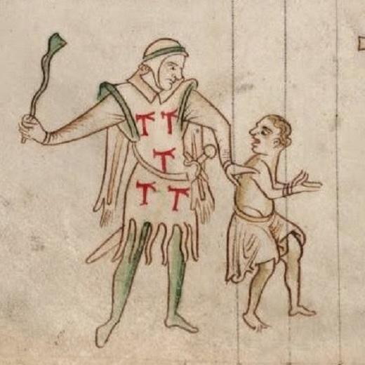 Image depicts the Oppressions of King John, Chronica Majora of Matthew Paris