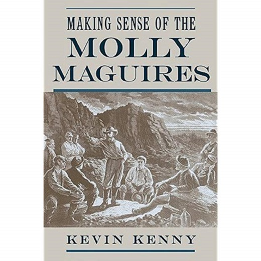Image depicts the book cover for Making Sense of the Molly MacGuires