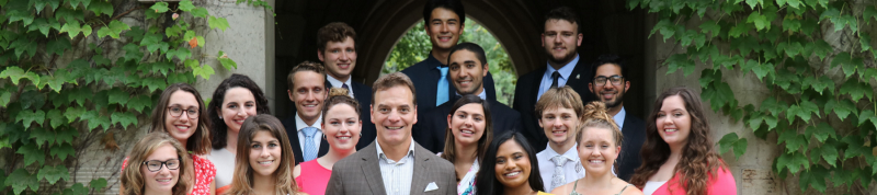 Image depicts 2018-2019 residence dons group photo