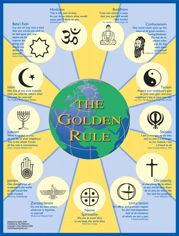 "Scarboro Missions ""The Golden Rule"" poster"