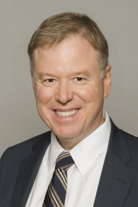 Dr. Andy Smith, President and CEO of Sunnybrook.