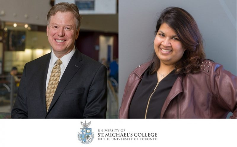 Image depicts Dr. Andy Smith and Aashani Shah