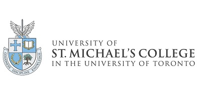 Image depicts the logo of the University of St. Michael's College.