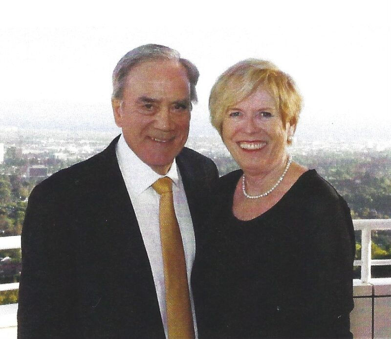 Image depicts Thomas and Dr. Marilyn Sutton.