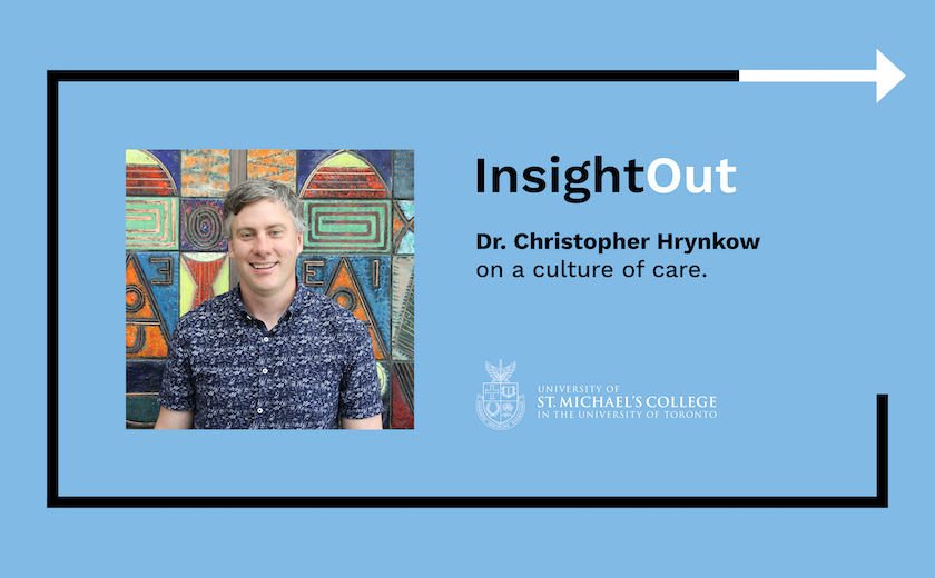 A title card for an InsightOut blog post by Dr. Christopher Hrynkow