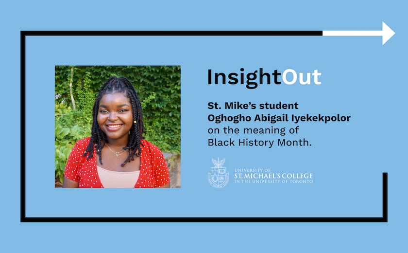 A title card for an InsightOut blog post by Oghogho Abigail Iyekekpolor