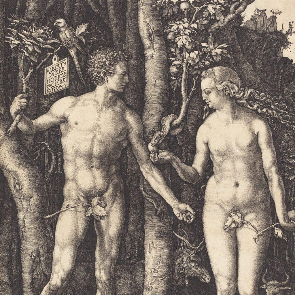 Albrecht Dürer, Adam and Eve, 1504, NGA