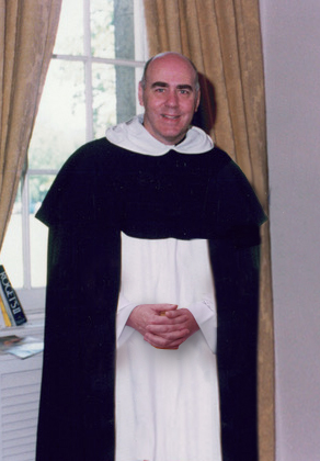 Fr. Edward J. R. Jackman, OP in the robes of his order