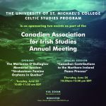 Canadian Association for Irish Studies Conference: Canadian Contributions to the Northern Ireland Peace Process