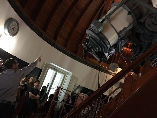 Image depicts the inside of the Vatican Observatory