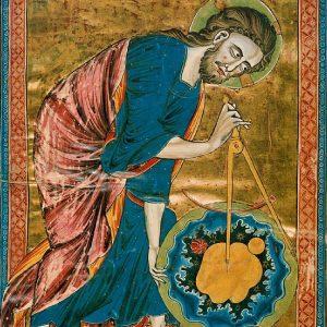 God the Geometer, circa 1220-1230
