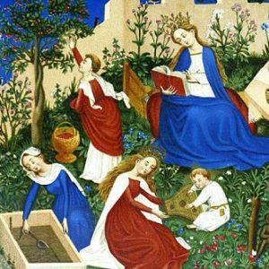 The Little Garden of Paradise, ca. 1410 – 1420, Städel Museum, Frankfurt am Main